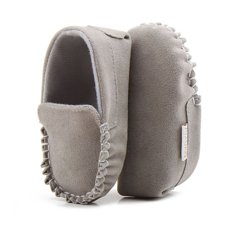 Newborn Baby Boy & Girl First Walkers Moccasin PU Leather Cute Lace Bow-knot Shoes For Kids 4