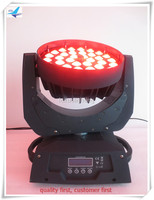 T 8 Lot Pro Stage Lighting Equipment 6in1 RGBWAUV Zoom 36X18W Led Wash Moving Head