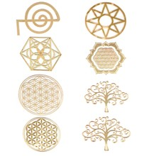 Energy Tower Pattern Paste Copper Stickers For DIY Making Mould Craft Jewelry Tool(China)