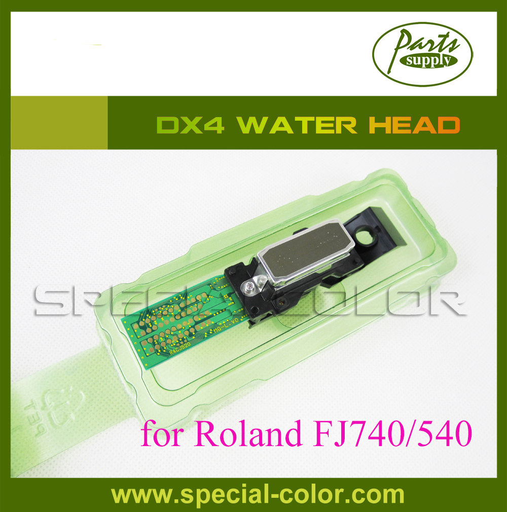 for Epson DX4 Printhead FJ740 Print head For Roland (water based) Japan Printhead original roland print carriage board w700241211 for fp 740 printer