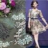 Chiffon Embroidered Lace Fabric Mesh Tulle Fabrics Tissu Au Metre Patchwork Telas For Dress Fashion Christmas