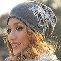 Мода Весна Осень Зима Женщины Hat Шарф Письма Хип-Хоп Женщины Шапочки Шляпы Хлопка Хеджирования Шапка Мужчины Бесплатная Доставка