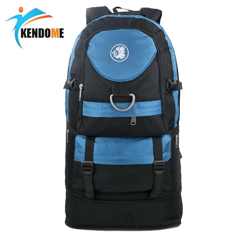 Hot 55L Large Capacity Professional Mountaineering Backpack Waterproof Outdoor Travel Should Bag Hiking Camping Rucksack 55l large capacity outdoor backpack camping climbing bag waterproof mountaineering hiking backpack unisex travel bag rucksack