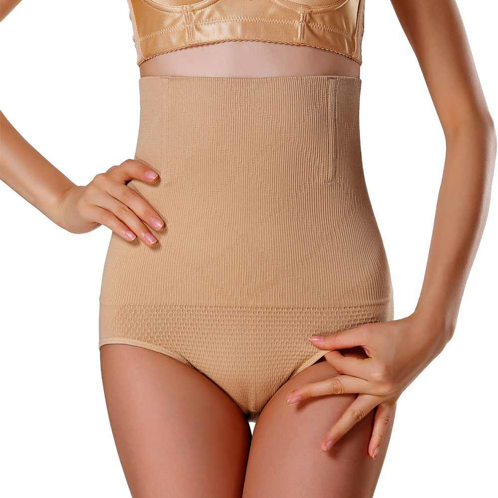 f54b848c4e2 ... Seamless Women High Waist Slimming Tummy Control Knickers Pant Briefs Shapewear  Underwear Body Shaper Lady Corset ...