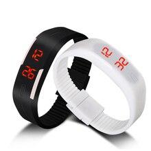 2018 модные LED-часы Для мужчин Для женщин Любители часы Открытый цифровой спортивные часы женские Простой браслет час времени Relogio Masculino