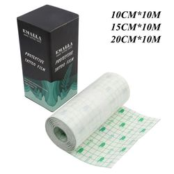 EMALLA Newest Tattoo Bandage Roll 10M microblading Breathable Tattoo Film Tattoo Aftercare for tattoo Healing Tattoo Accessories