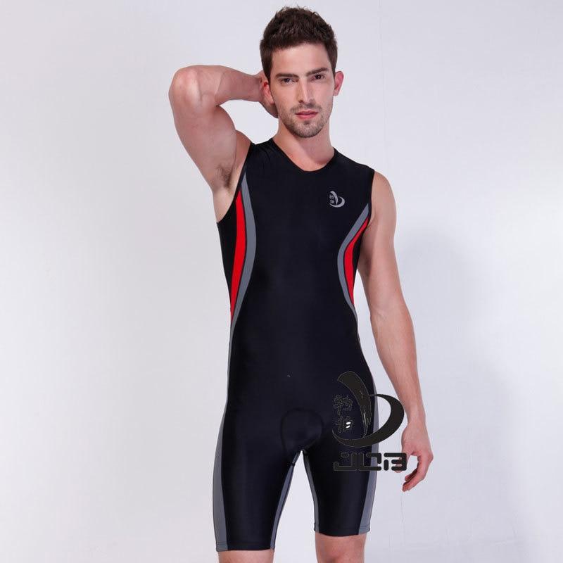 Triatlon Training Velosiped velosiped kostyum geyən kişilər - İdman geyimləri və aksesuarları - Fotoqrafiya 1