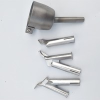 4pcs Speed Welding Nozzles 5mm Speed Weld Tip For PVC Plastic Welder for Welding Soldering Supplies