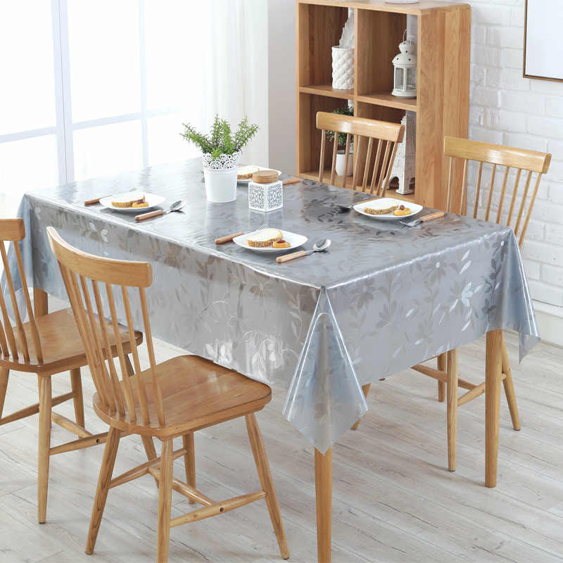 Admirable Thin Soft Style Sagging Wood Tablecloth Transparent Scrub Plastic Pvc Soft Glass Table Cover Protective Film Waterproof Pvc Mat Machost Co Dining Chair Design Ideas Machostcouk