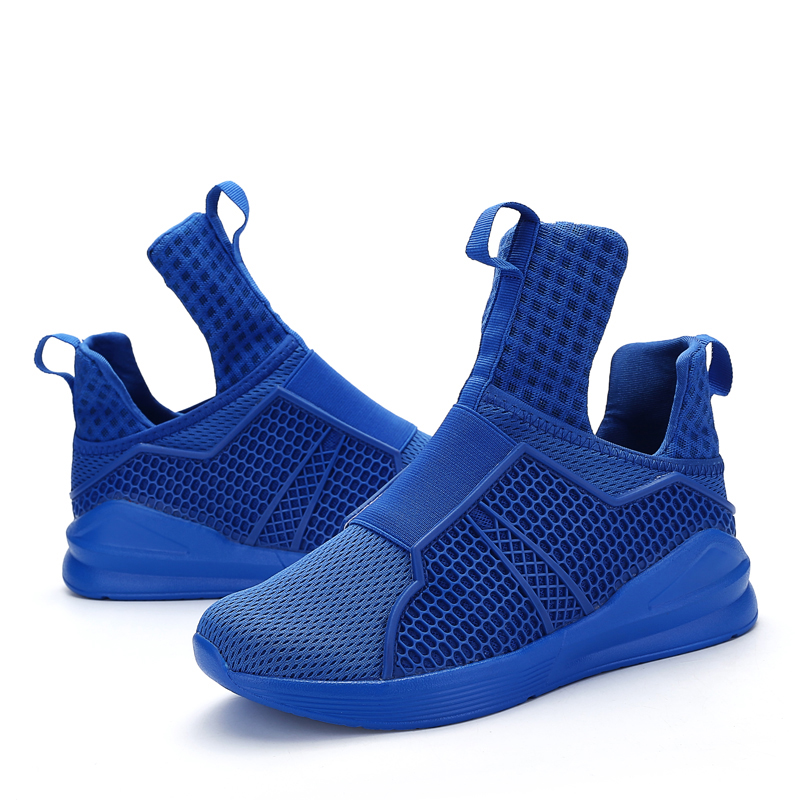 47ebd97180f8 Hot Sales Brand Fashion Shoes Men 2017 Casual Men s Red Bottom Autumn New  Design Light Breathable Mesh Trainers Shoes for Men-in Men s Casual Shoes  from ...