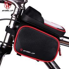 794be5e4859 Funda de bolsa de bicicleta de 6,2 pulgadas con marco frontal y pantalla  táctil