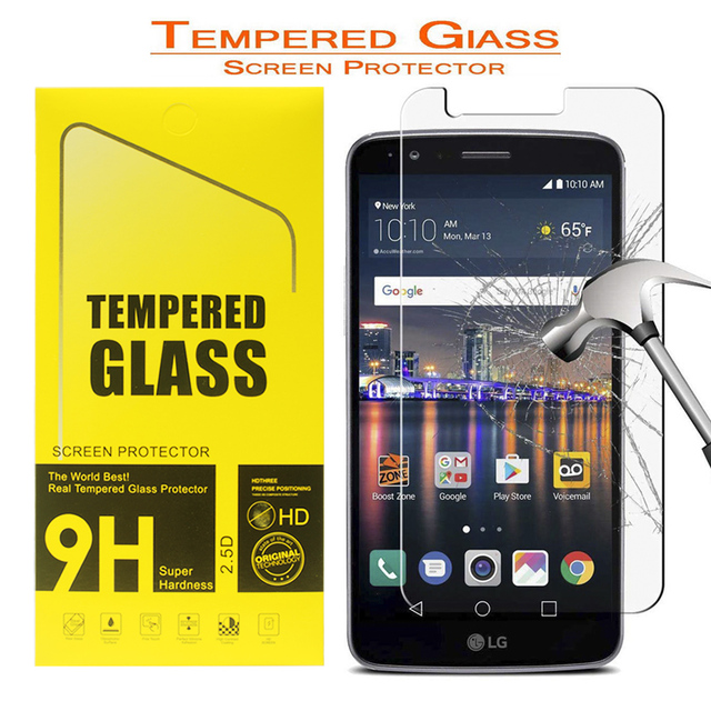 SuaGet For LG Stylo 3 Plus / 3 /Stylus 3 2.5D Curved Premium 9H HD Tempered Glass