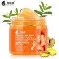 Ginger Pé Creme de Massagem esfoliante Reparação Clareamento Hidratante Antibacteriano Antiperspirante Pés de Beleza do Cuidado Da Pele Cremes