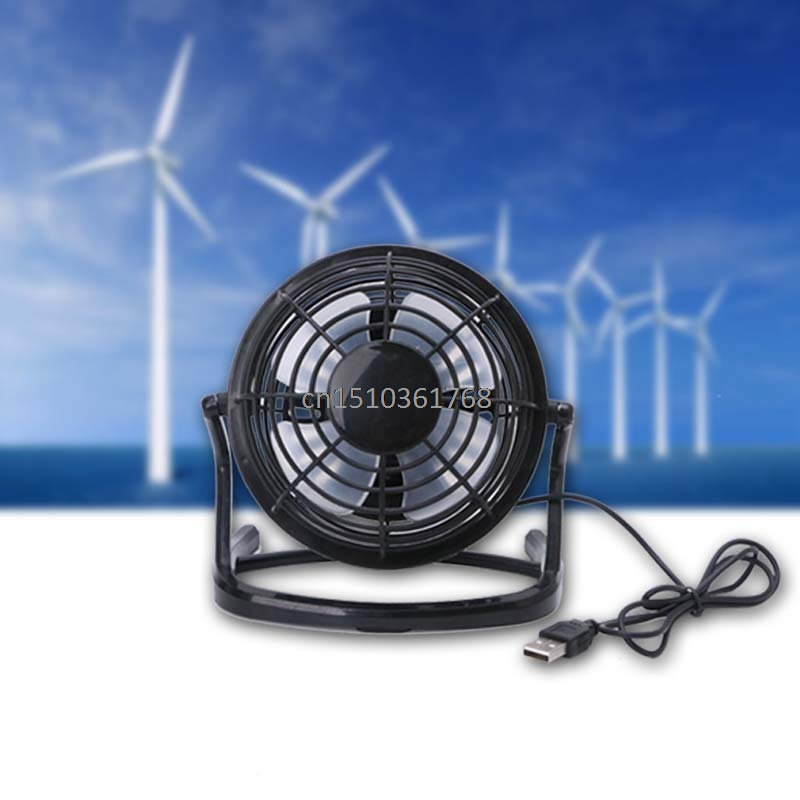 New Mini Portable Super Mute USB Fan Desk Cooling Laptop Notebook PC Fan Cooler #Y05# #C05# new mini pc usb desk fan usb cooler cooling super mute durable soft fan blades up to down adjustable angle usb fan high quality