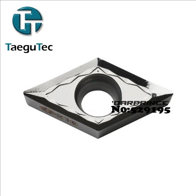 DCGT11T302 FL DCGT11T304 FL DCGT11T308 FL K10 10pcs Original Taegutec Cnc Lathe suitable For Outer Circle