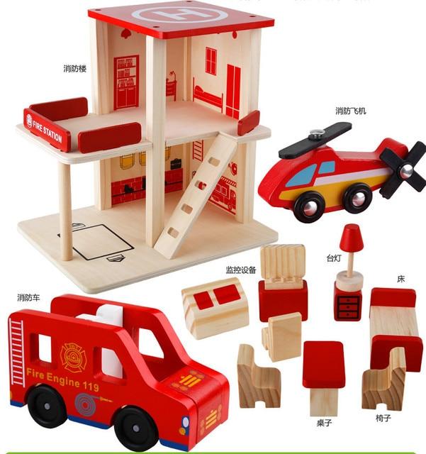 Gratis Verzending Baby Speelgoed Houten Rollenspel Speelgoed