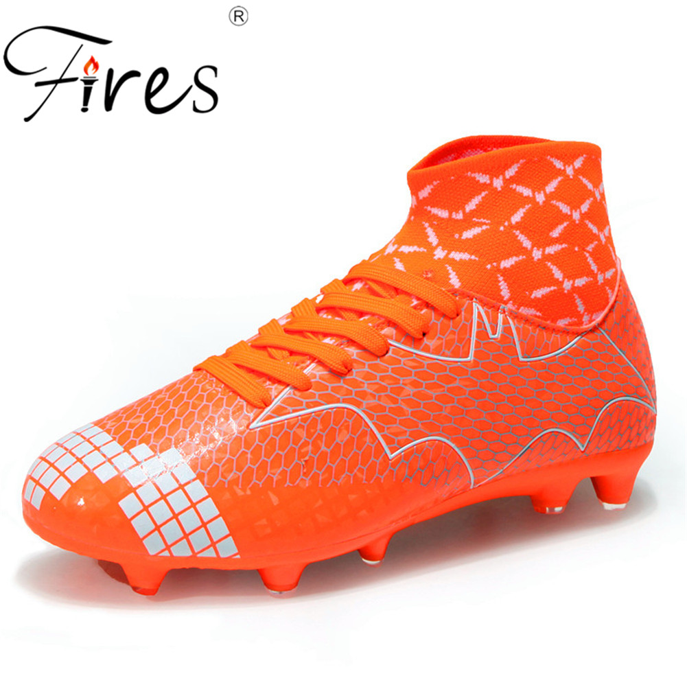 254f50e6cd2 Outdoor futsal soccer boots sneakers men Cheap soccer cleats superfly  original sock football shoes with ankle boots high hall 45-in Soccer Shoes  from Sports ...