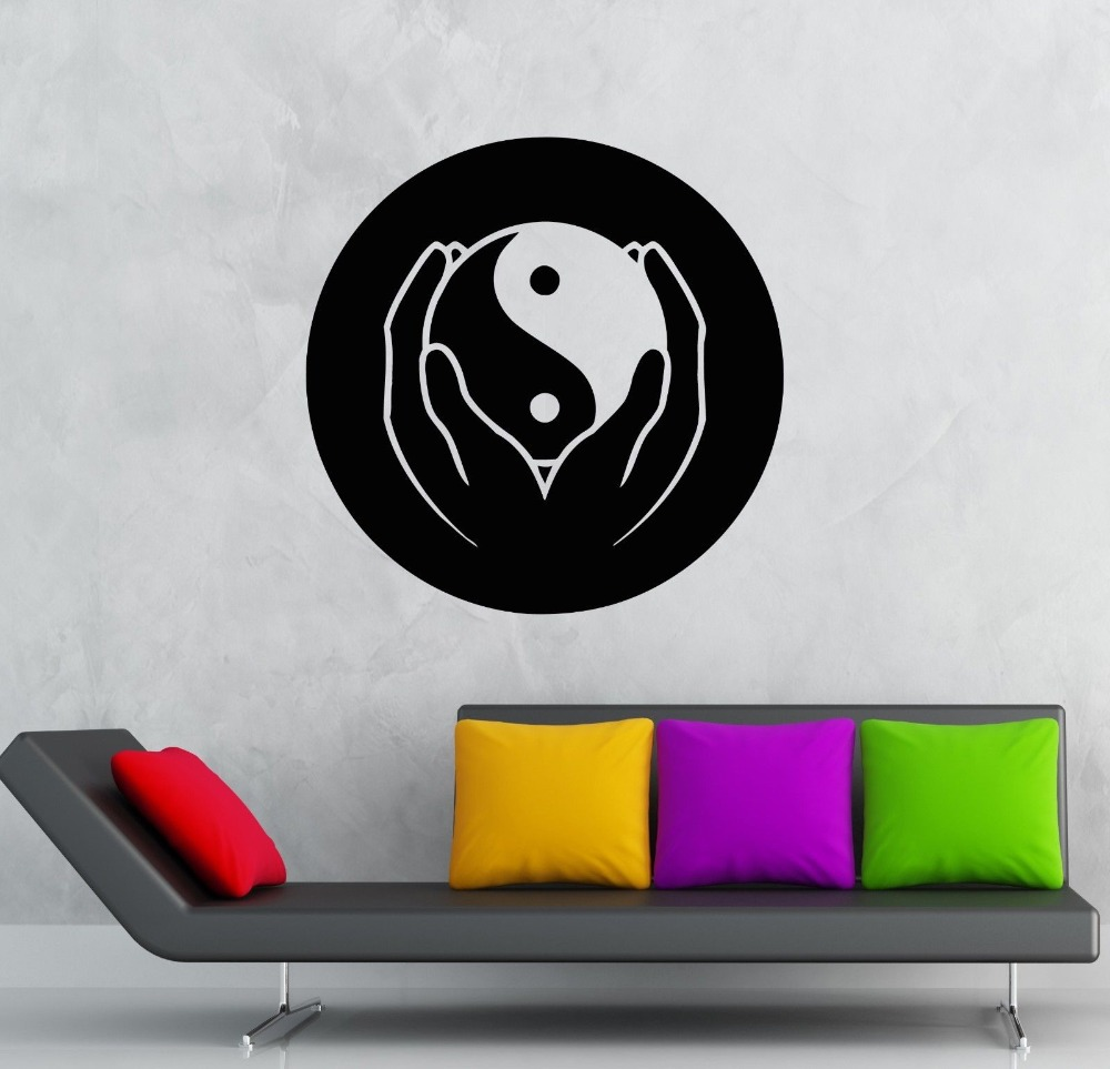Online buy wholesale philosophy christmas from china for Decoration murale yin yang