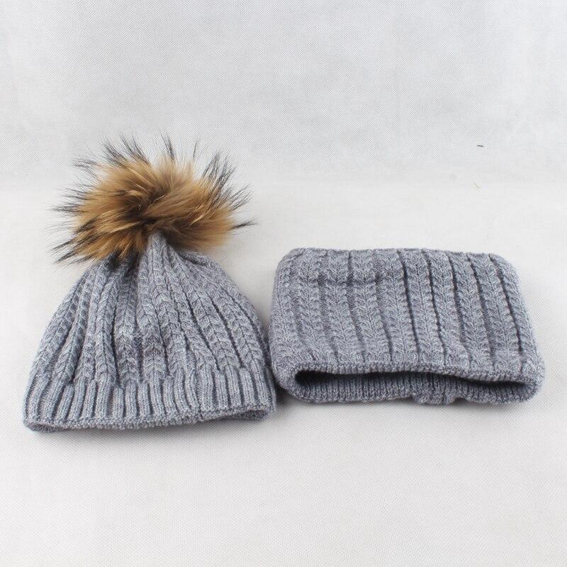 Bonnet en laine tricoté torsadé pour femme