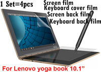 Whole Protective Film For Lenovo Yoga Book 10 1 Inch Tablet PC Screen Protector Film Keyboard