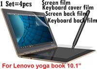 Libro de toda la Película Protectora Para Lenovo Yoga 10.1 Pulgadas Tablet PC protector de pantalla de la Cubierta Del Teclado Película de Cine la Película de Nuevo envío gratis