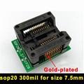 SOP20 OTS-28-1.27-04 300mil IC Test Socket IC Programador Toma Del Adaptador de Alta Calidad De Grabación en el Zócalo