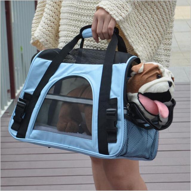 ca9c3f16089f Gato perro transpirable productos para mascotas carrier bag pet gato  mochila para Kitty Puppy Chihuahua pequeño