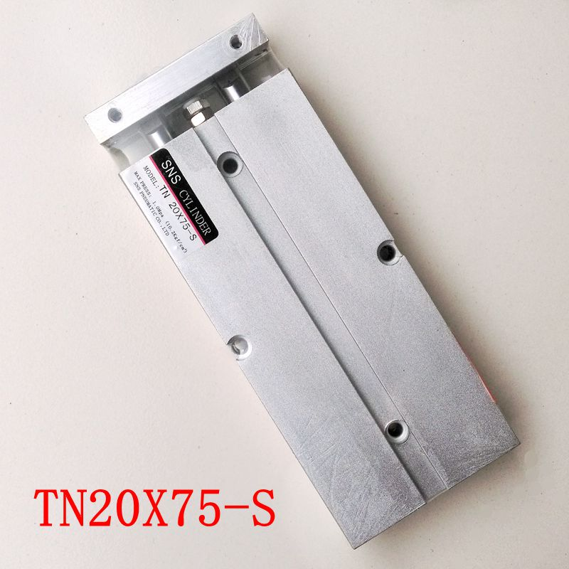 TN20X75-S Double Rod Air Cylinder With Magnetic Bore 20mm Stroke 75mm TDA20*75-STN20X75-S Double Rod Air Cylinder With Magnetic Bore 20mm Stroke 75mm TDA20*75-S