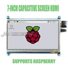 7 cal wyświetlacz LCD HDMI monitora wyświetlacz Malinowy Pi3 800X480