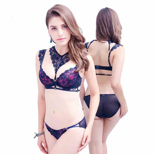 Women Lingerie Suit Lace Bra And Panties For Women