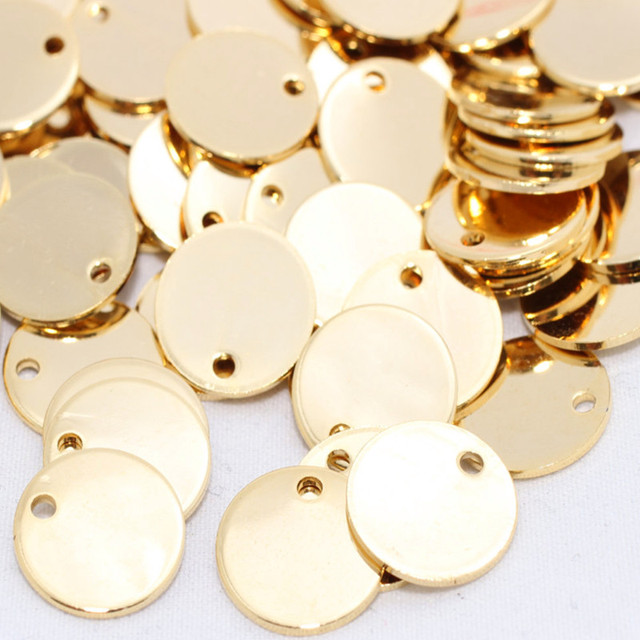 Maheu 10 pcs 12mm raw brass 24k shiny gold tag stamped disc 10 pcs 12mm raw brass 24k shiny gold tag stamped disc coins mozeypictures