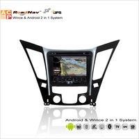 Liandlee для Hyundai i45/i50/Sonata YF 2010 ~ 2013 Радио CD dvd-плеер GPS навигации WinCE и Android 2 в 1 s160 Системы