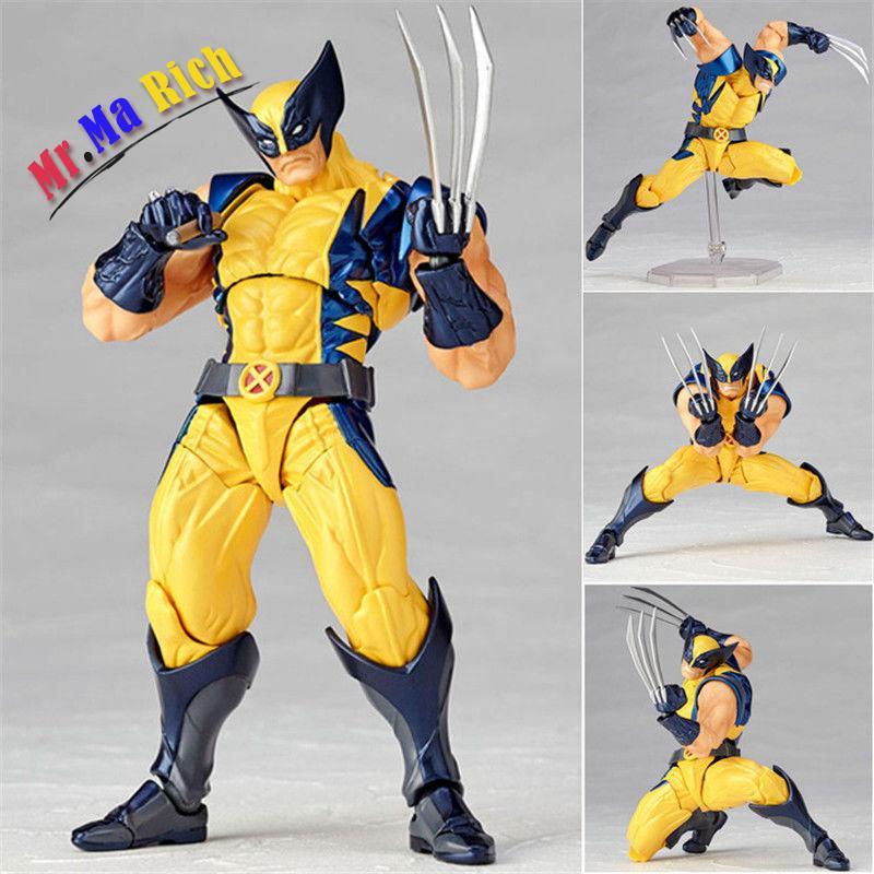 X-men Wolverine No.005 Logan Amazing Yamaguchi Action Figur Figuren Ib массажное кресло yamaguchi ya 2100 3d power
