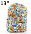 "13"" Pokemon School Backpack Pokemon Eevee Evolution All Over Prints Bag 28x9x35cm LxWxH"