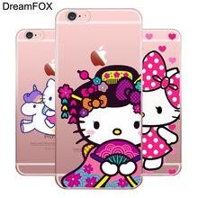 372e2ccdd DREAMFOX M085 Cute Hello Kitty Soft TPU Silicone Case Cover For Apple iPhone  X XR XS Max 8 7 6 6S Plus 5 5S SE 5C 4 4S