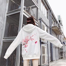 bumpybeast Newautumn/winter hip-hop girl loose-fitting lovers hoodie 2018