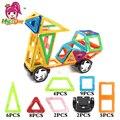 36 unids modelos de gran tamaño diseñador de aprendizaje del cabrito juguetes educativos bloques de construcción de juguetes magnéticos magnética enlighten juguetes de los ladrillos