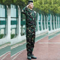 Heißer 2019 Outdoor Kommando Arbeit Overalls lange Anzug spezielle hunter camouflage sport tragen militärische Taktische Wandern Fracht Gesetzt