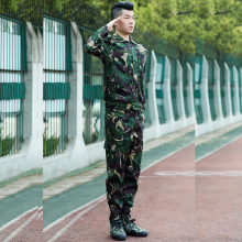 Hot 2017 Outdoor Commando Labor Overalls long Suit special hunter camouflage sports wear military Tactical Hiking Cargo Set
