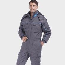 Одежда, цельная одежда, хлопковая стеганая куртка, стеганая куртка, теплая рабочая одежда, мужская sp-7334