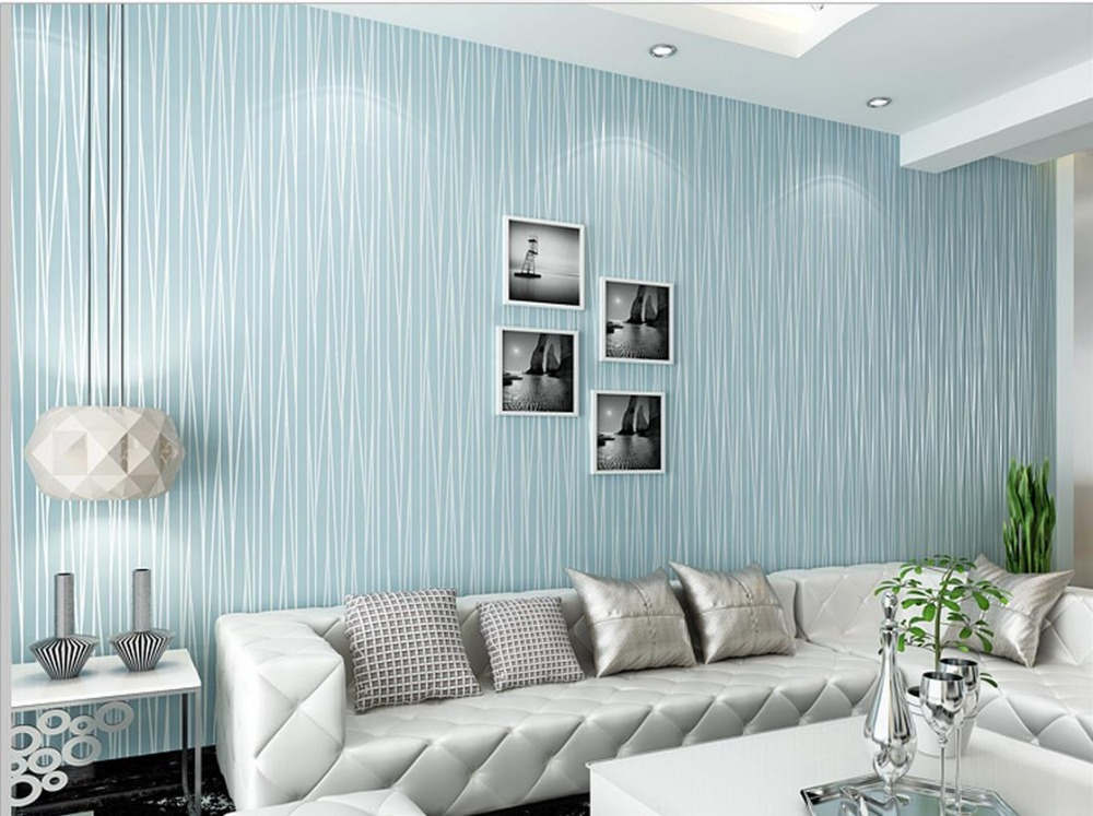 ФОТО Solid plain striped wallpaper shop for living room bedroom background wallpaper Decoration roll wallpapers