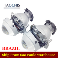 TAOCHIS Auto HELLA 5 3R G5 Projector Lens Car Styling Aluminum 3 0 Inch Bi Xenon
