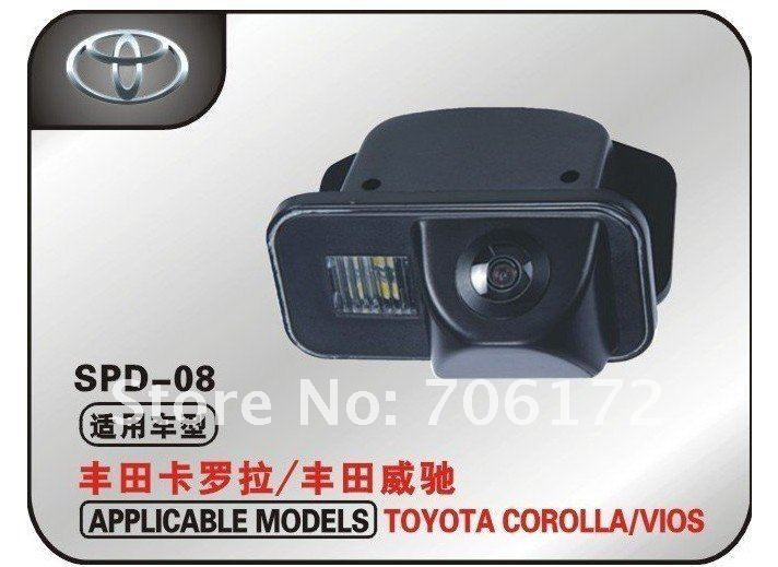 Newest waterproof car rear view camera special car camera reverse backup rearview for TOYOTA COROLLA VIOS цена