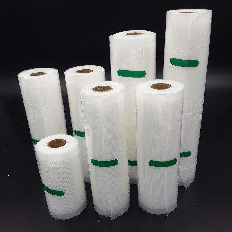 7pcs/lot Food Vacuum Bag Storage Bags For Vacuum Sealer Food Fresh Long Keeping 12+15+17+20+25+28+30cm*500cm 7 Rolls other 15 18 20 22 7pcs