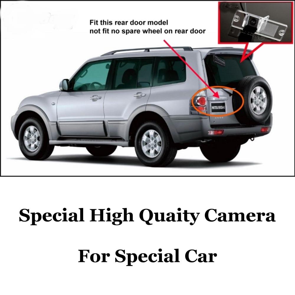 Liislee car camera for mitsubishi pajero super exceed montero shogun field master national high quality rear view camera rca