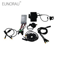 36V 500W Front/Rear Wheel Drive E bike Conversion Kits LCD Display Control Systems For Electric bike Kits