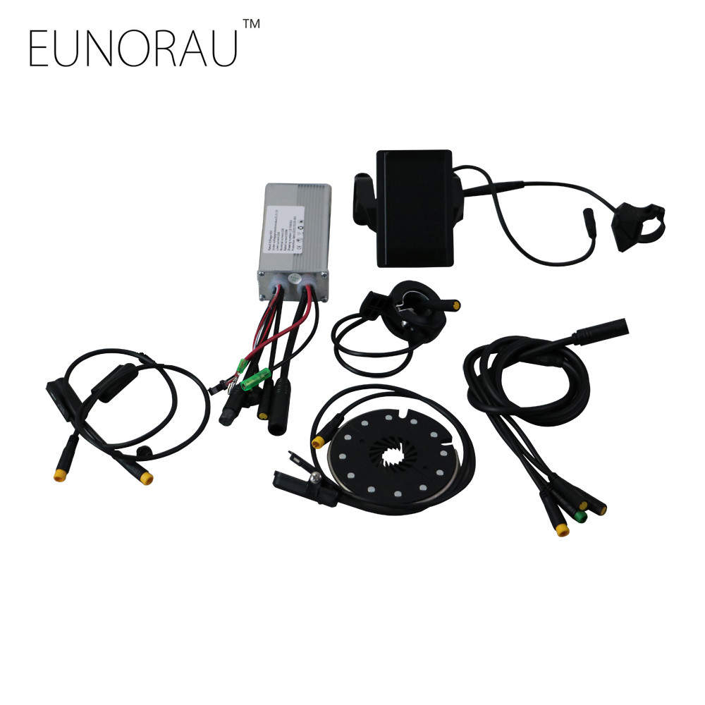 36V 500W Front/Rear Wheel Drive E-bike Conversion Kits LCD Display Control Systems For Electric bike Kits recommendation systems for e commerce