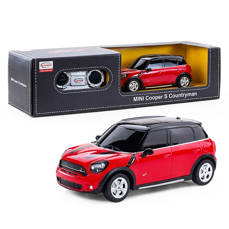 Girls Toys Remote Control Car Electric RC Car 1:24 Radio Controlled Toys Boys Gifts Kids Toys Mini Cooper S Countryman 71700