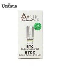 เดิมบุหรี่อิเล็กทรอนิกส์แท้ถังอาร์กติกขดลวดBTC BTDCขดลวด0.2 0.5ohmอาร์กติกเครื่องฉีดน้ำคอยส์เปลี่ยนvaporizer