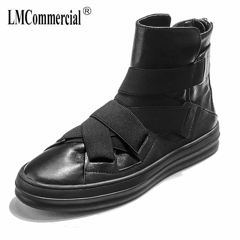 На осень зиму Британский ретро Мужская обувь с высоким берцем универсальные Теплые Ботинки Челси мужские дышащие кроссовки модные повседн